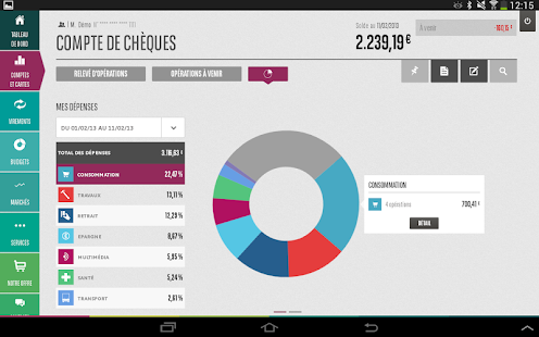 Mes Comptes BNP Paribas- screenshot thumbnail