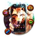 Colorful Wolf Theme icon