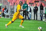 Siphosakhe Ntiya-Ntiya in action for Kaizer Chiefs.