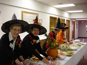 Photo: October Meeting - More Bewitching Hostesses