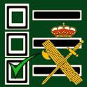 Test Me In... Guardia Civil 2018 icon