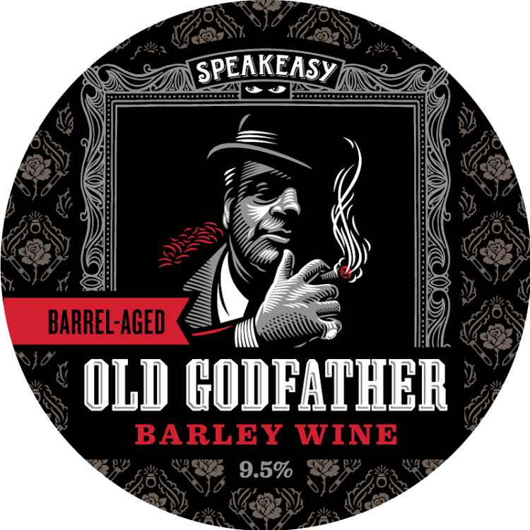 Logo of Speakeasy Barrel Aged Old Godfather