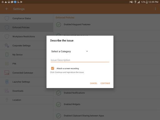 MaaS360 MDM for Android 6.05 screenshots 11