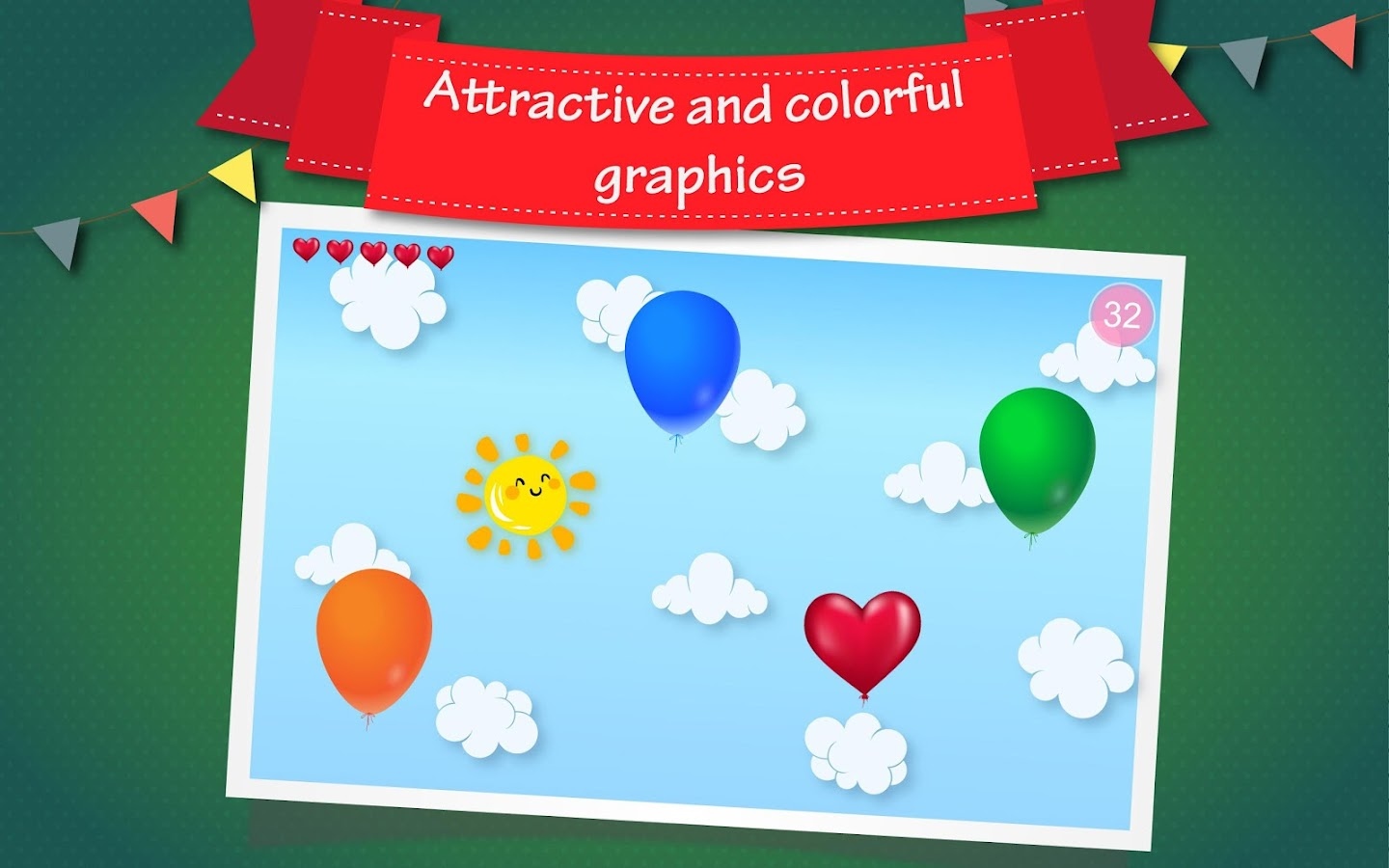 Balloon pop android apps on google play for Free balloon games