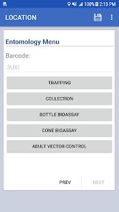 Epi Info™ Vector Surveillance - náhled