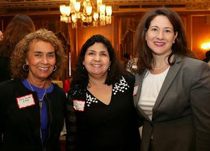 Photo: Ruth Ellen Fitch (Dimock Community Health Center), Susan Bocamazo (MA Lawyers Weekly), and Kara Deltufo (Dana-Farber Cancer Institute).