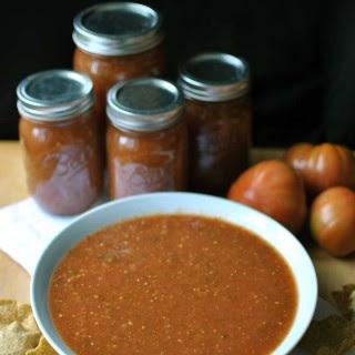 Homemade Roasted Tomato Salsa
