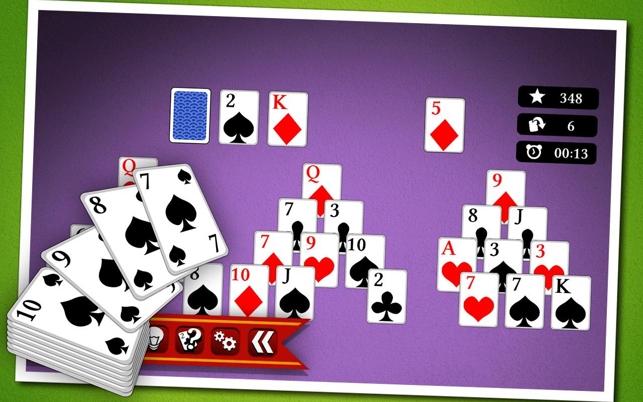 Pyramid Solitaire- screenshot