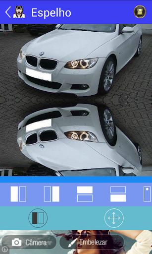 Efeito Espelho Editor de Fotos