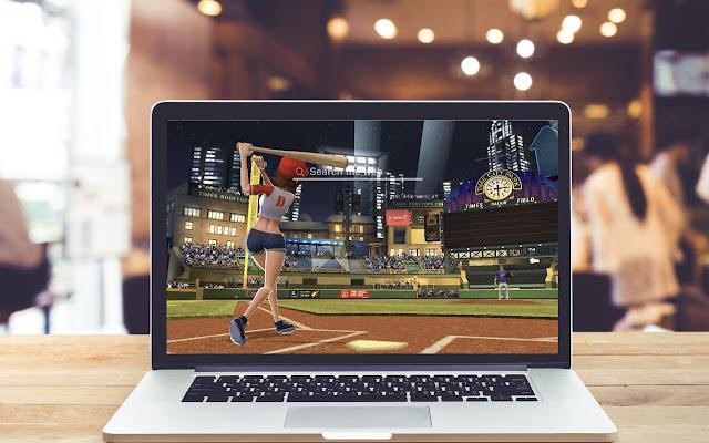 Homerun Clash HD Wallpapers Baseball Theme