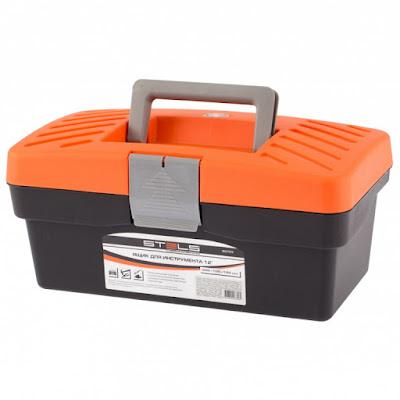 """Ящик для инструмента Stels 285 х 155 х 125 мм (12""""), пластик"""