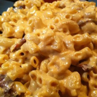 CREAMY BACON/CHIPOTLE MAC N CHEESE