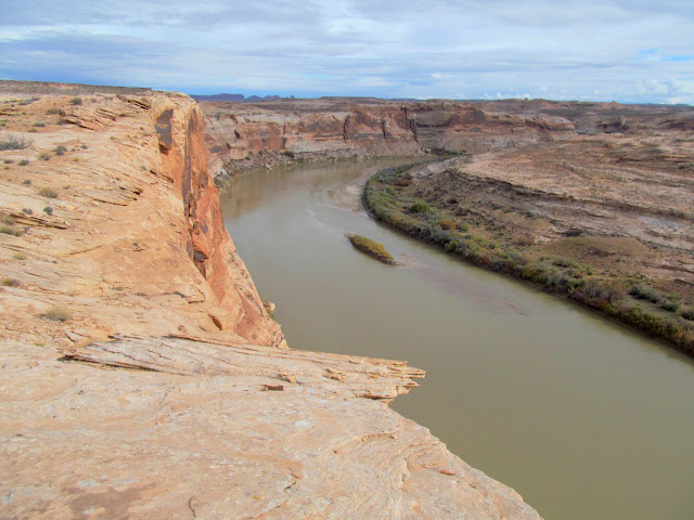 Green River below June's Bottom