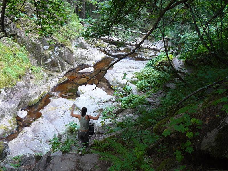 Каньон на водопадите