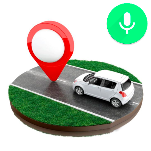 GPS Voice Navigation & Search Places