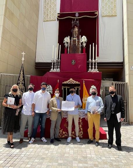 El altar de Pasión ha resultado ganador del primer premio.