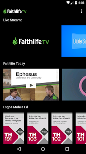 Faithlife TV- screenshot thumbnail