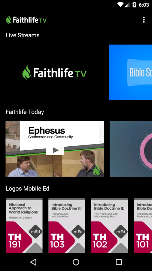 Faithlife TV- screenshot