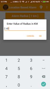 Location Based Alarm (GPS Alarm) - náhled
