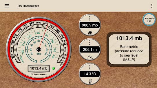 DS Barometer – Altimeter and Weather Information 1