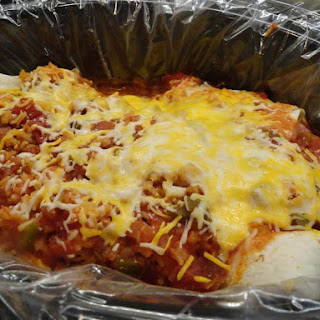 Cheesy-green-chili-chicken Crock Pot Enchiladas.
