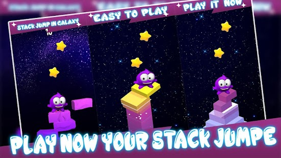 Stack Jump In Galaxy - náhled