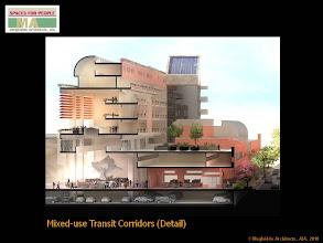Photo: Mixed-use Transit Corridors Matrix - Detail