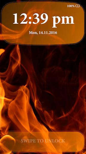 Fire Lock Screen 2.4 screenshots 4