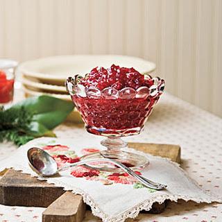 Grandma Erma's Spirited Cranberry Sauce
