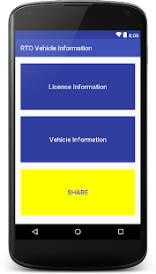 Indian RTO Vehicle and License Information - náhled