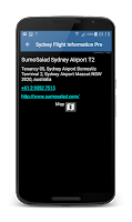 Screenshot of Heathrow Airport FlightPal