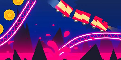 Rollercoaster Dash - Rush and Jump the Train 1.7.1 screenshots 4