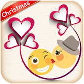 Love Stickers and Christmas Stickers