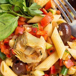 Sicilian Pasta Salad.
