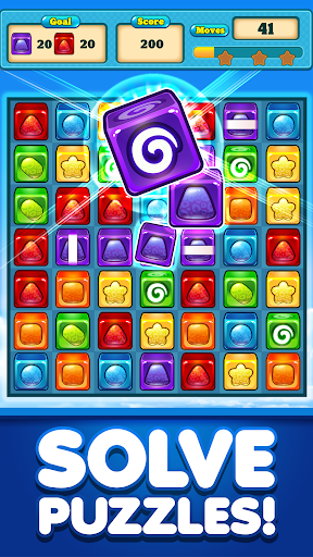 Match 3 Candy Cubes Puzzle Blast Games Free New 1.0.2 Mod screenshots 1