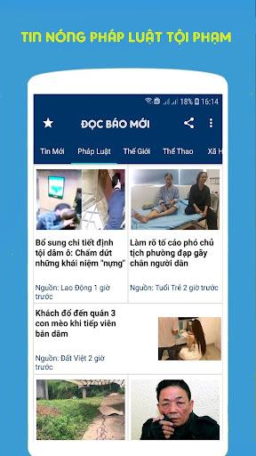Tin Tức 24h, Báo Mới Ngày Nay, Tin Nóng 1.0 screenshots 1