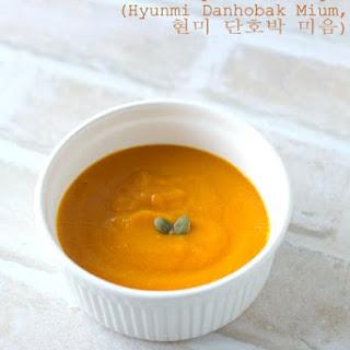 Brown Rice and Pumpkin Porridge (Hyunmi Danhobak Mium).
