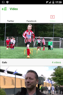 Leidenamateurvoetbal- screenshot thumbnail