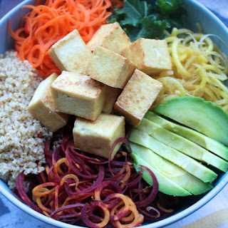 Superfood Rainbow Tofu Bowl