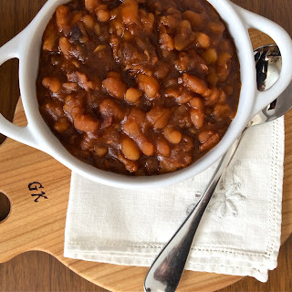 Big Batch of Bourbon Baked Beans