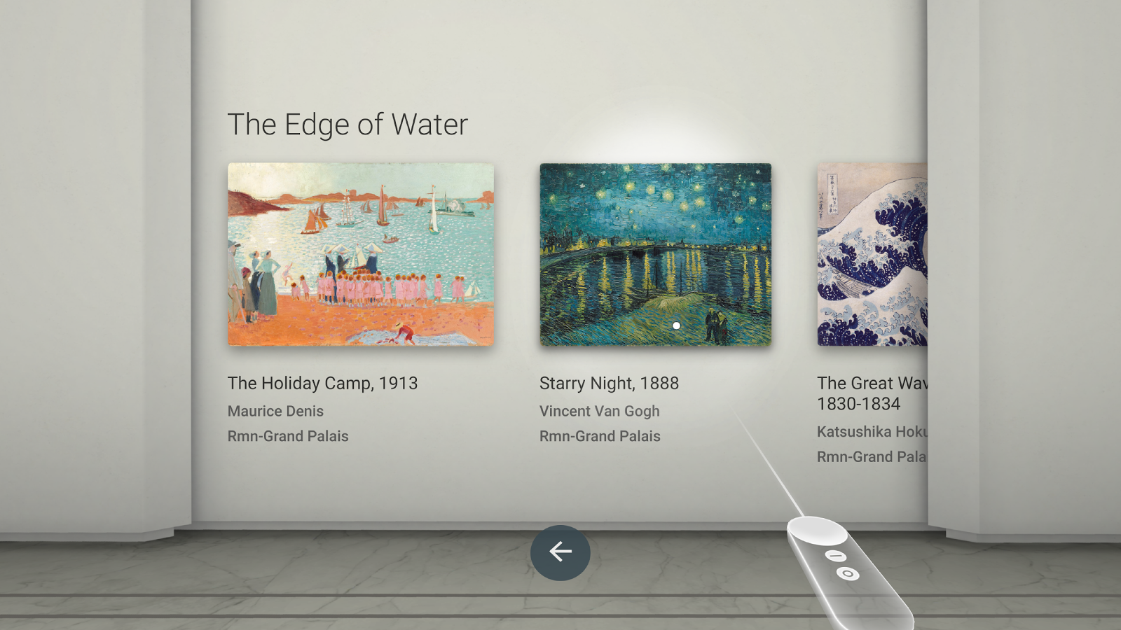 Google Arts & Culture VR – Capture d'écran