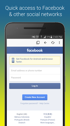 Browser for FB  screenshots 1