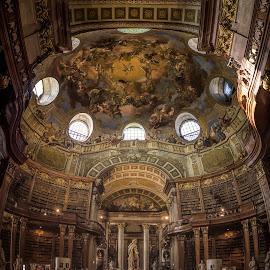 Prunksaal by Ole Steffensen - Buildings & Architecture Other Interior ( wien, interior, vienna, library, austria, prunksaal )