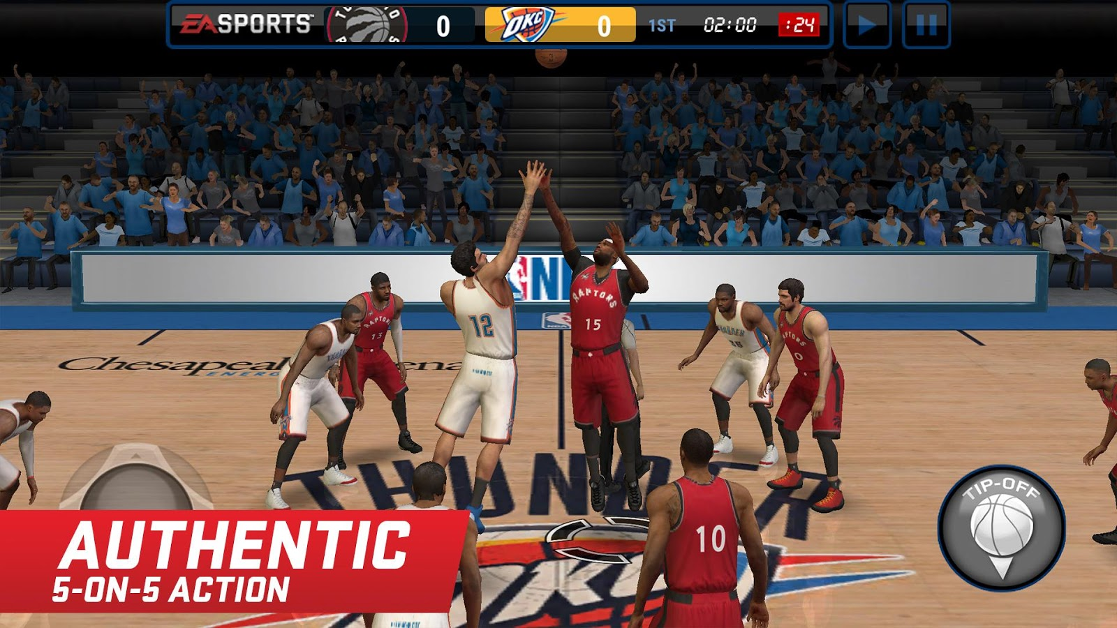 NBA LIVE Mobile ASIA- screenshot