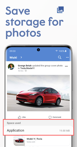 Maki: Facebook & Messenger in one application  screenshots 4