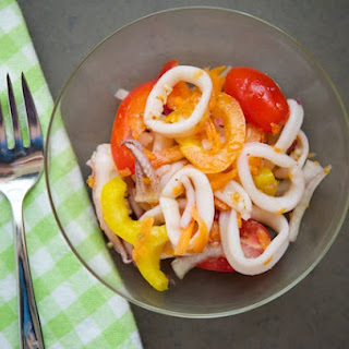 Easy Calamari (Squid) Salad