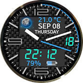 Color ☀️ Weather 3D Watch Face