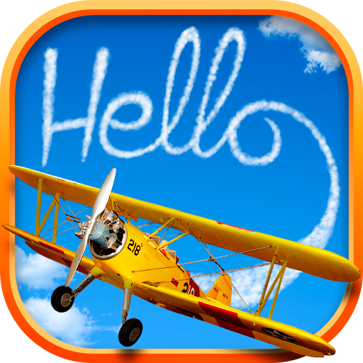 DRAW IN THE SKY WITH A PLANE 娛樂 App LOGO-APP開箱王