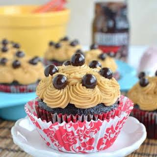 Mocha Fudge Cupcakes.