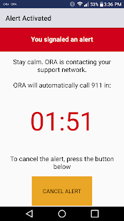 ORA - Emergency Safety Alert- screenshot thumbnail
